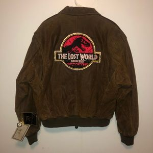 Jurassic Park the Lost World Leather Jacket